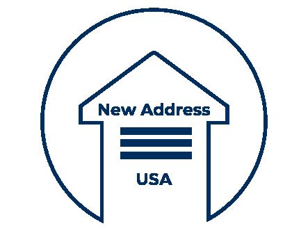 Icona indirizzo americano