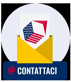 Icona form di contatto spedizioni dagli USA